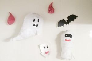 【ハロウィン】壁面工作にぴったり!子どもと出来るおばけの作り方5選
