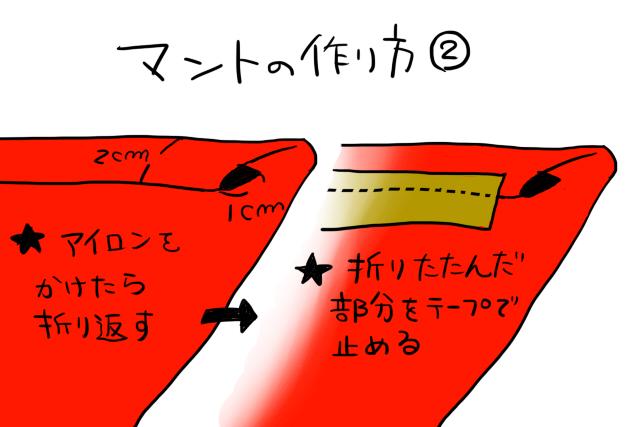 ジバニャン仮装グッツ作り方07