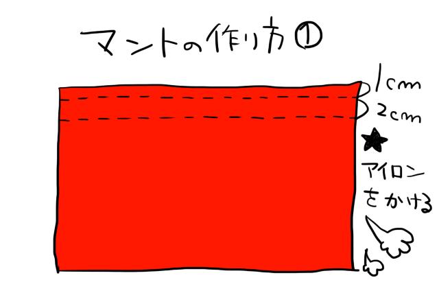 ジバニャン仮装グッツ作り方06
