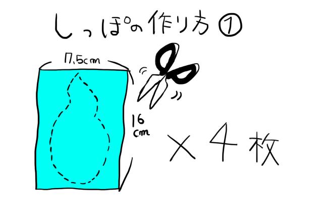 ジバニャン仮装グッツ作り方08