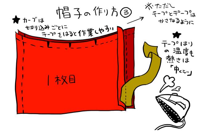 ジバニャン仮装グッツ作り方04-1