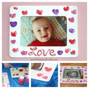 Fingerprint-Heart-Frame-Valentines-Day-Craft