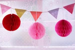 誕生日やホームパーティーに!無料印刷できるメッセージ付ガーランド10選