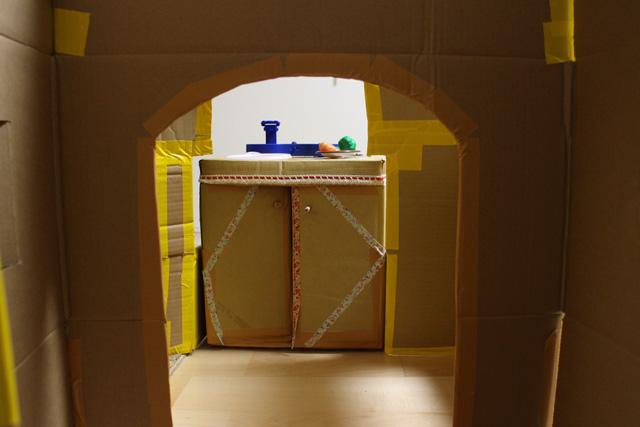 ダンボールハウス作り方7