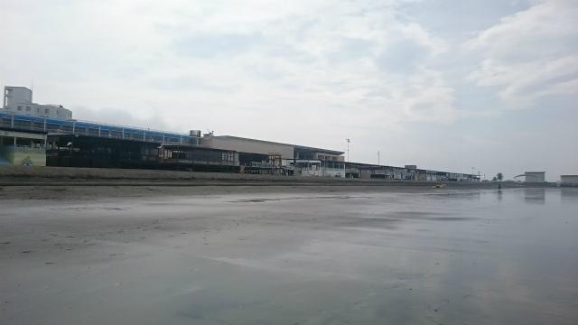 湘南江ノ島片瀬西浜