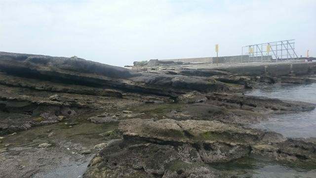 荒井浜岩場