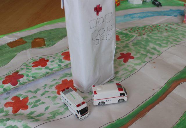 プレイマット病院
