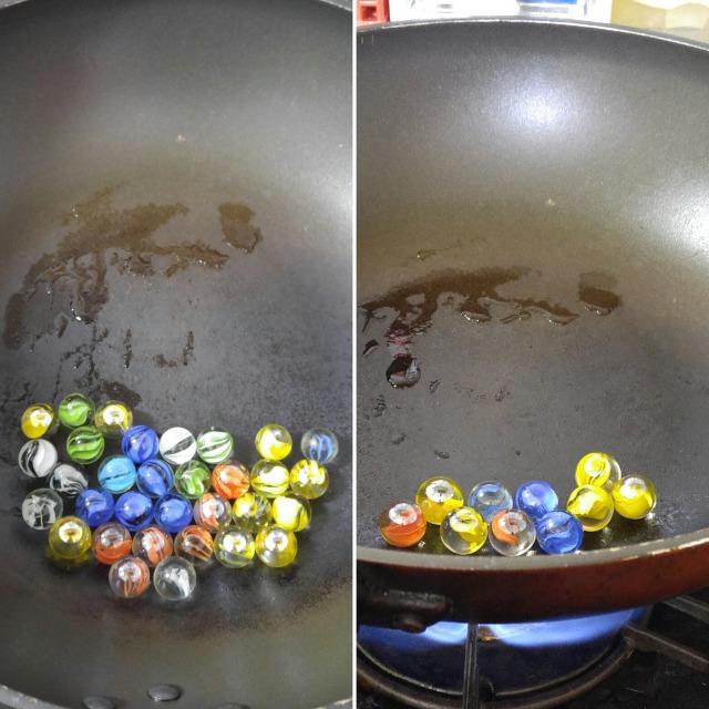 ひび玉の作り方