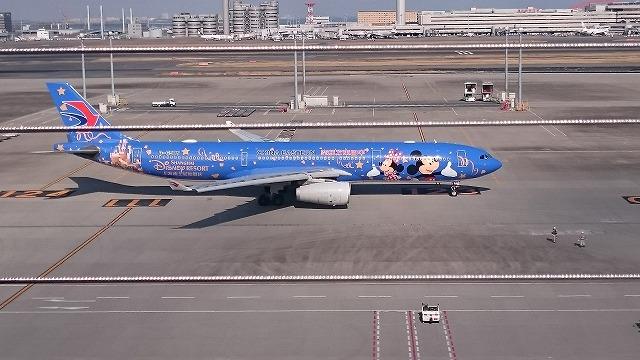 ディズニー飛行機