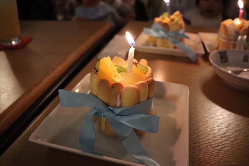 親子カフェangelica誕生日会