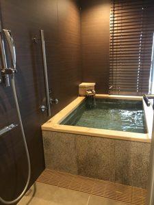 ラフォーレ倶楽部伊東温泉湯の庭部屋風呂