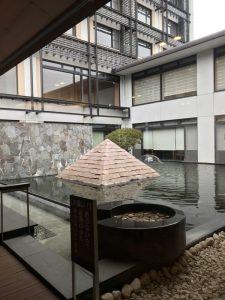 ラフォーレ倶楽部伊東温泉湯の庭足湯