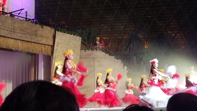 ハワイアンズフラダンスショー